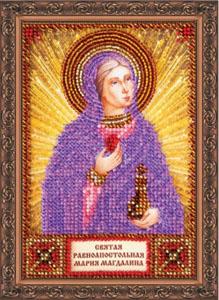 """Набор для вышивания """"Св.Мария"""" Абрис Арт AАМ-014 (бисер)"""