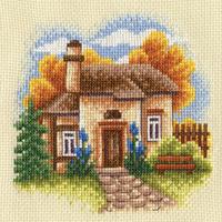 "Набор для вышивания ""Осенний сад"" Панна АД-0445 (крестик)"