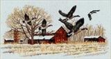 """Набор """"Перелетные утки"""" картина-мозаика АЛМАЗНАЯ ЖИВОПИСЬ SP-478"""