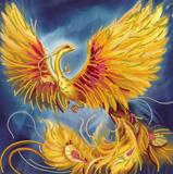 "Схема на холсте ""Жар-птица"" Абрис Арт AС-150 (ткань для вышивания бисером)"