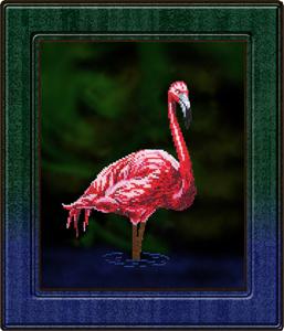 """Набор для вышивания """"Фламинго"""", Вышиваем бисером В18 (бисер)"""