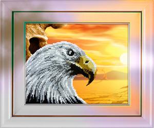 """Набор для вышивания """"Орел"""", Вышиваем бисером В19 (бисер)"""