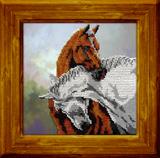 """Набор для вышивания """"Лошади"""", Вышиваем бисером В23 (бисер)"""