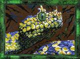 """Набор для вышивания """"Змея"""" Вышиваем бисером В48 (бисер)"""