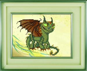 """Набор для вышивания """"Дракончик"""" Вышиваем бисером В5 (бисер)"""
