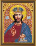 """""""Христос"""" Nova Sloboda БИС9061 (тканьс рисунком д/вышивания бисером)"""