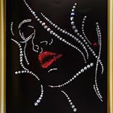 Набор картина со стразами Чаривна Мить КС-019