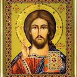 """Набор картина со стразами """"Господь Вседержитель"""" Чаривна Мить КС-047"""