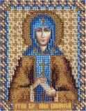 """Набор для вышивания """"Икона Св. Анны Кашинской"""" Панна ЦМ-1209 (бисер)"""