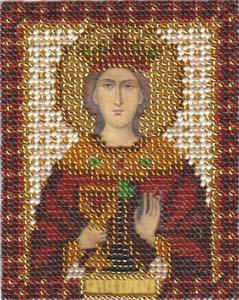 """Набор для вышивания """"Икона Св. Великомученицы Варвары"""" Панна ЦМ-1210 (бисер)"""