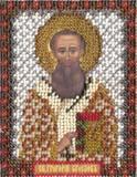 """Набор для вышивания """"Икона Святителя Григория Богослова"""" Панна ЦМ-1212 (бисер)"""