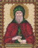 """Набор для вышивания """"Икона Св. Благоверного Даниила Московского"""" Панна ЦМ-1213 (бисер)"""