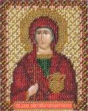 """Набор для вышивания """"Икона Святой Великомученицы Анастасии"""" Панна ЦМ-1216 (бисер)"""
