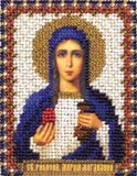 """Набор для вышивания """"Икона Св. Равноапостольной Марии Магдалины"""" Панна ЦМ-1260 (бисер)"""