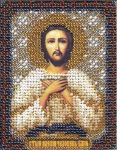 """Набор для вышивания """"Икона Св. Алексия, человека Божьего"""" Панна ЦМ-1261 (бисер)"""