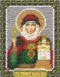 """Набор для вышивания """"Икона Святой равноапостольной Княгини Ольги"""" Панна ЦМ-1304 (бисер)"""