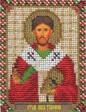 """Набор для вышивания """"Икона Святого Апостола Тимофея"""" Панна ЦМ-1410 (бисер)"""