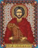 """Набор для вышивания """"Икона Св. Влкм. Никиты Воина Константинопольского"""" Панна ЦМ-1416 (бисер)"""