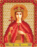 """Набор для вышивания """"Икона Святой Великомученицы Екатерины"""" Панна ЦМ-1433 (бисер)"""