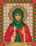 """Набор для вышивания """"Икона Святой Преподобномученицы Евгении Римской"""" Панна ЦМ-1465 (бисер)"""
