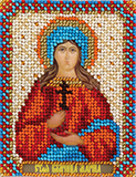 """Набор для вышивания """"Икона Святой Великомученицы Марины"""" Панна ЦМ-1504 (бисер)"""