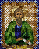 """Набор для вышивания """"Икона Святого Апостола Андрея"""" Панна ЦМ-1545 (бисер)"""