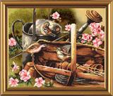 """Птичий календарь. Весна"" Nova Sloboda СР 4019 (крестик)"