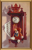 """""""Старинные часы"""" Nova Sloboda СВ 3024 (крестик)"""