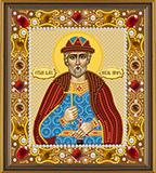 """Набор для вышивания """"Икона Св. Великий Князь Игорь"""" Nova Sloboda Д6119  (бисер)"""