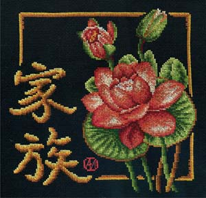 """Набор для вышивания """"Семья"""" Панна И-0157 (крестик)"""