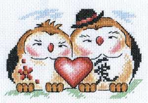 """Набор для вышивания """"Любовь в доме"""" Панна И-0590 (крестик)"""