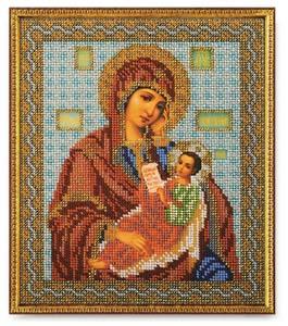 """Набор для вышивания """"Икона Богородица Утоли Мои Печали"""" Кроше В-158 (бисер)"""