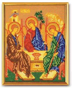 """Набор для вышивания """"Икона Святая Троица"""" Кроше В-167 (бисер)"""