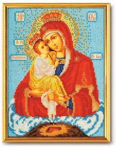 """Набор для вышивания """"Икона Богородица Почаевская"""" Кроше В-170 (бисер)"""