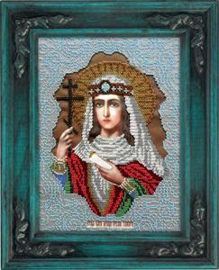 """Набор для вышивания """"Икона Святая Тамара"""" Вышиваем бисером L100 (бисер)"""