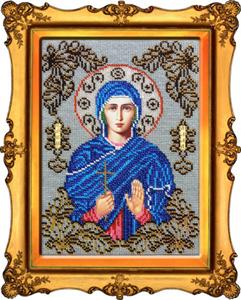 """Набор для вышивания """"Икона Святая Алла"""" Вышиваем бисером L101 (бисер)"""