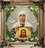 """Набор для вышивания """"Икона Святая  Вероника"""" Вышиваем бисером L102 (бисер)"""
