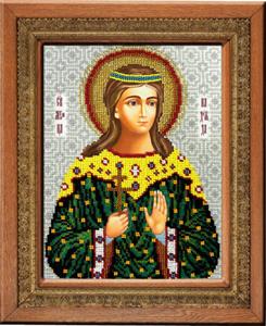 """Набор для вышивания """"Икона Святая Надежда"""" Вышиваем бисером L106 (бисер)"""