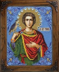 """Набор для вышивания """"Икона Святой Трифон"""" Вышиваем бисером L113 (бисер)"""