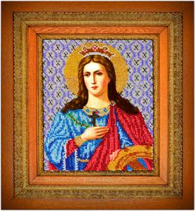 """Набор для вышивания """"Икона Святая Екатерина"""" Вышиваем бисером L31 (бисер)"""