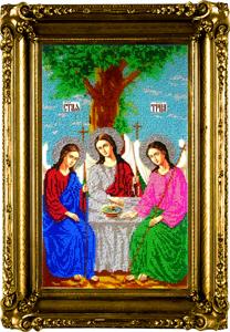 """Набор для вышивания """"Икона  Святая Троица"""" Вышиваем бисером L33 (бисер)"""
