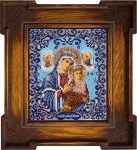 """Набор для вышивания """"Икона Божией Матери Страстная"""" Вышиваем бисером L35 (бисер)"""