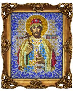 """Набор для вышивания """"Икона Святой Борис"""" Вышиваем бисером L36 (бисер)"""