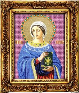 """Набор для вышивания """"Икона Святая Великомученица Анастасия"""" Вышиваем бисером L39 (бисер)"""