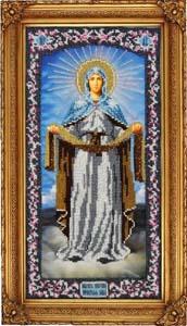 """Набор для вышивания """"Икона Покрова Пресвятой Богородицы"""" Вышиваем бисером L45 (бисер)"""