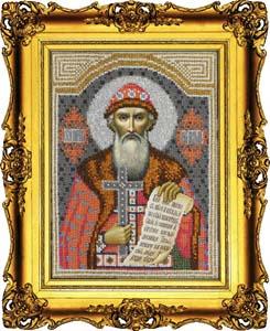 """Набор для вышивания """"Икона Святой Владимир"""" Вышиваем бисером L47 (бисер)"""