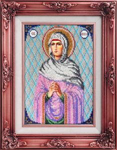 """Набор для вышивания """"Икона Святая Анна"""" Вышиваем бисером L48 (бисер)"""