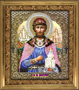 """Набор для вышивания """"Икона Святой Дмитрий"""" Вышиваем бисером L50 (бисер)"""