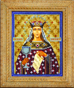 """Набор для вышивания """"Икона Святая Великомученица Варвара"""" Вышиваем бисером L52 (бисер)"""