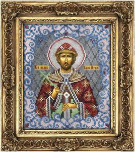 """Набор для вышивания """"Икона Святой князь Игорь"""" Вышиваем бисером L54 (бисер)"""